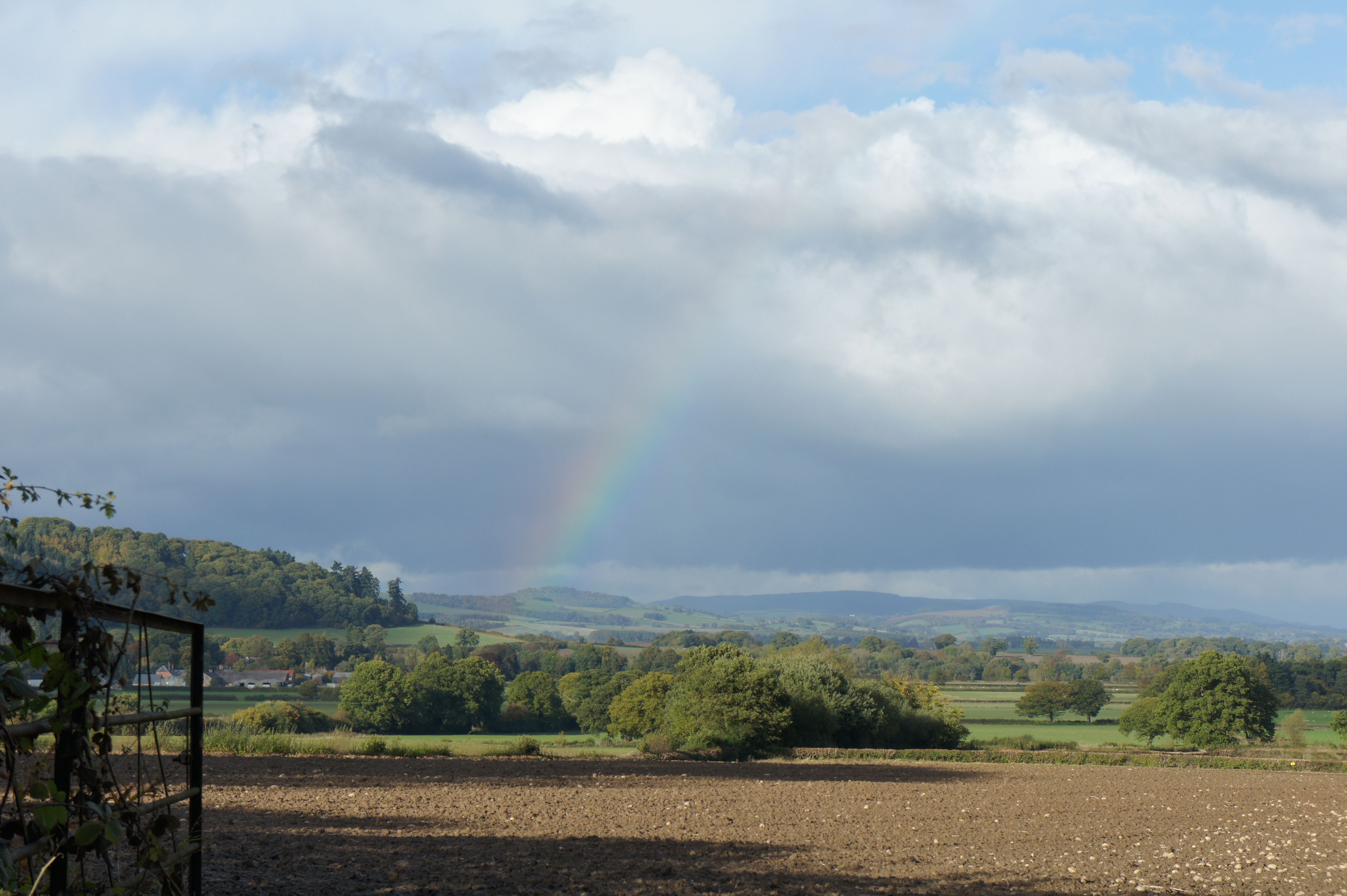 Near Knighton, Powys, Wales - learning to use my new camera! (asm)