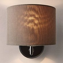 Buy john lewis presley wall light with shade black online at buy john lewis presley wall light with shade black online at johnlewis aloadofball Image collections