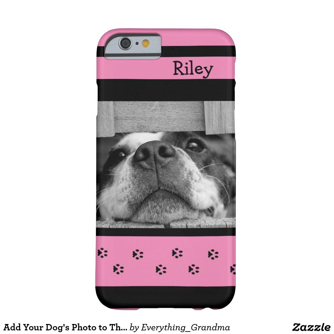 Add Your Dog's Photo to This Phone Case