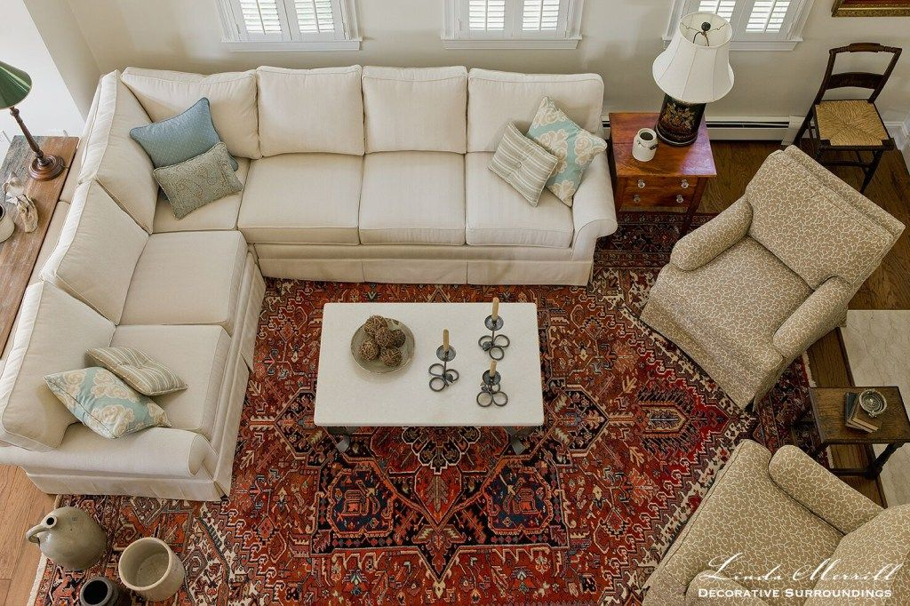 Portfolio Interior Design Decoration Coastal Home In 2020 Rugs In Living Room Living Room Decor Traditional Casual Living Rooms