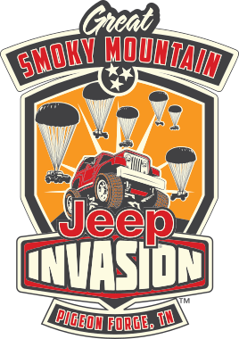 Great Smoky Mountain Jeep Invasion With Images Jeep Blue Jeep