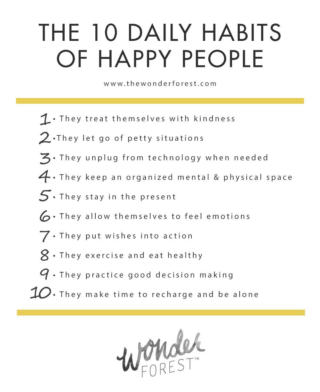 8 habits of happy people 39