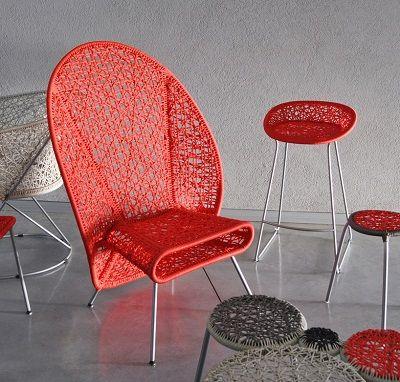 Sillas Modernas y Bonitas Muebles Ligeros 1 Leaf shadow chair