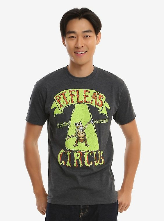 b811df9ba Disney Pixar A Bug's Life P.T. Flea's Circus T-Shirt - BoxLunch Exclusive,  GREY