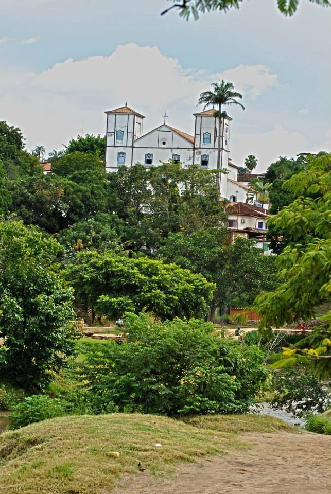Matriz Church, in Pirenopolis, GO, Brazil.