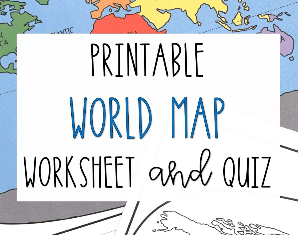 It's just a graphic of Persnickety Free Printable Continents and Oceans Quiz