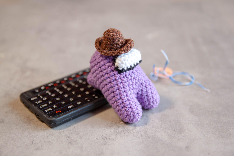 Helmet Among Us Cowboy Hat Pattern Crochet Plush Among Us Etsy In 2020 Cowboy Hat Pattern Crochet Hat Pattern Pattern Game