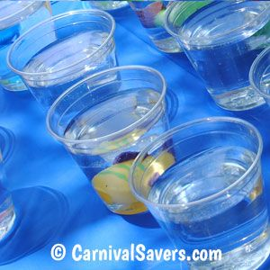 Fish Cup Game Supplies - Plastic Cups