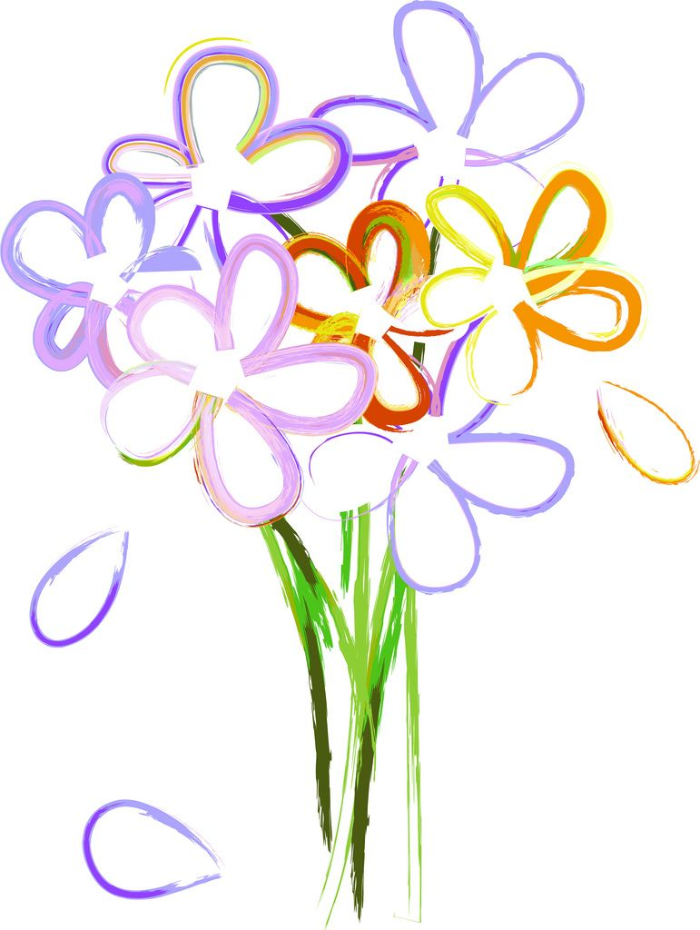 Trends For > Spring Flowers Bouquet Clipart - Cliparts.co | FLOWERS ...
