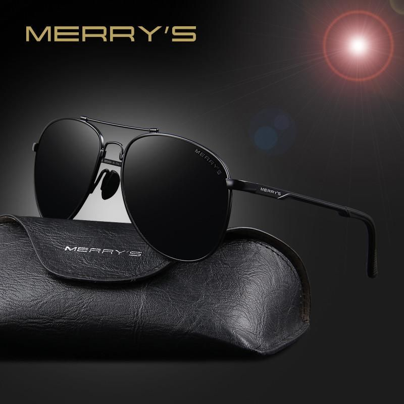 e7a7dda21c7b MERRY S Men Classic Polarized Aviation Sunglasses