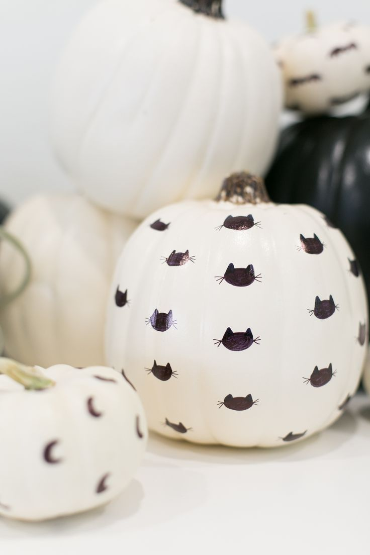 How to Make Sharpie Patterned Pumpkins