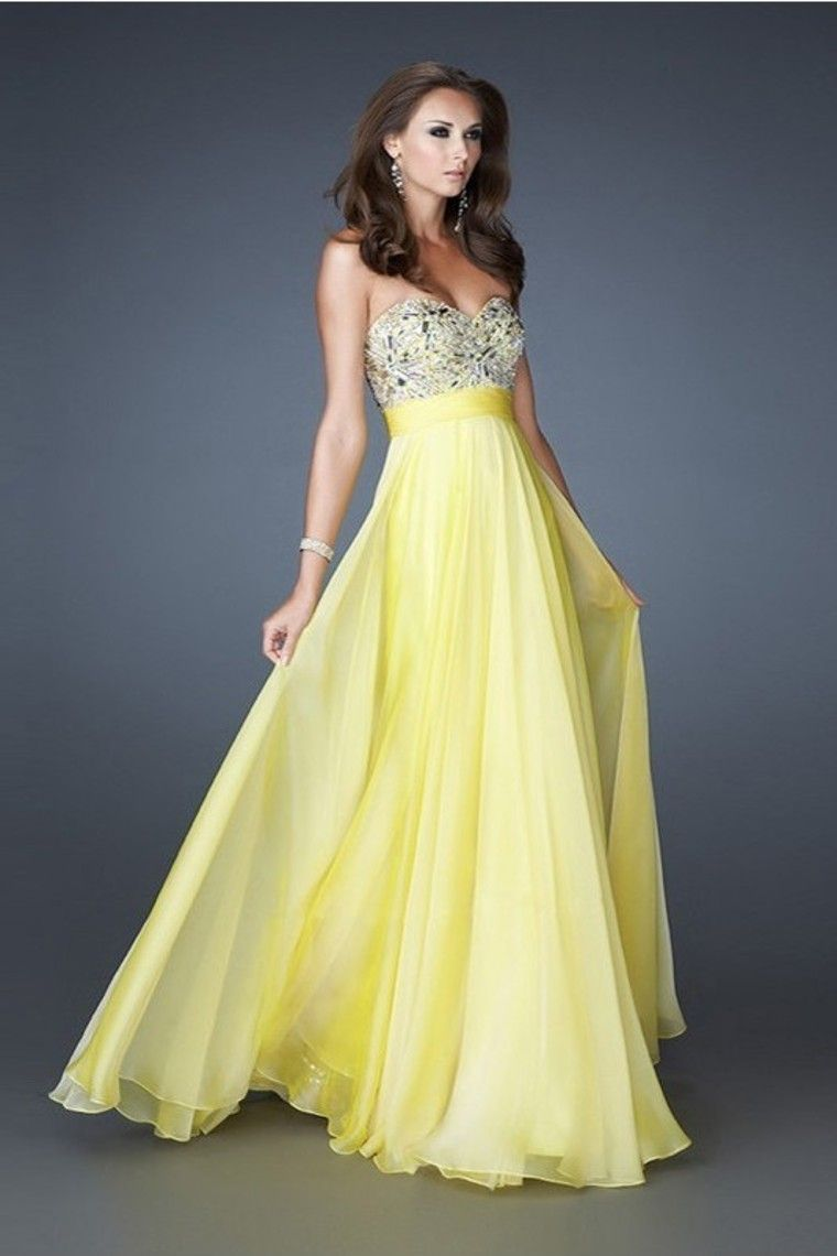 2013 Prom Dresses New Arrival A Line Beading/Sequins Chiffon Floor Length