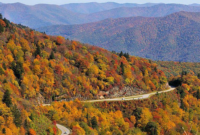 Top 15 Scenic Drives Near Asheville In The Blue Ridge