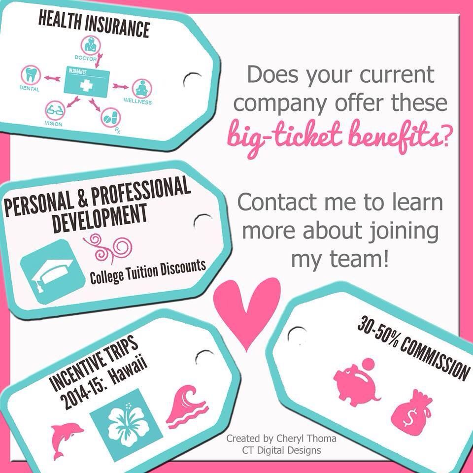 Does your current company offer this? Join my team! www.brandieyost.origamiowl.com