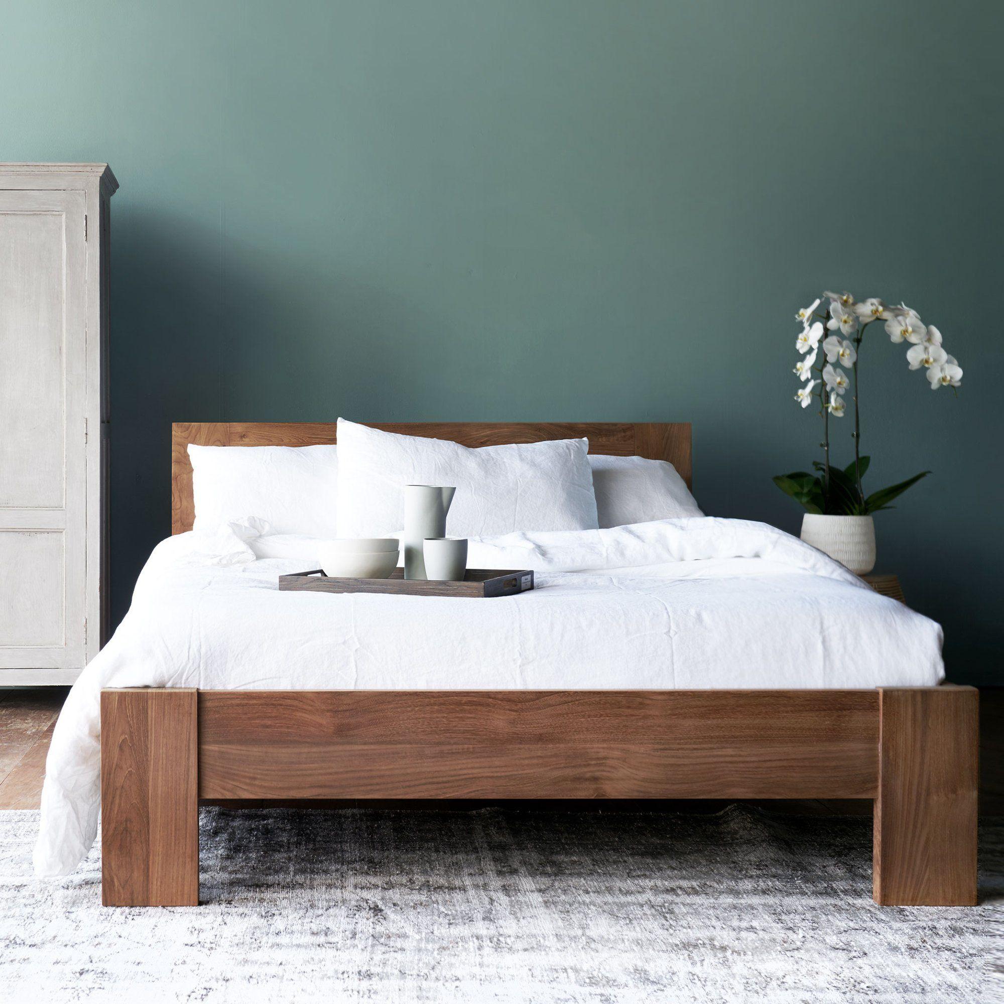 Teak Bed Frame Light Frame Bed In 2020 Bed Frame Making A Bed Frame King Bed Frame