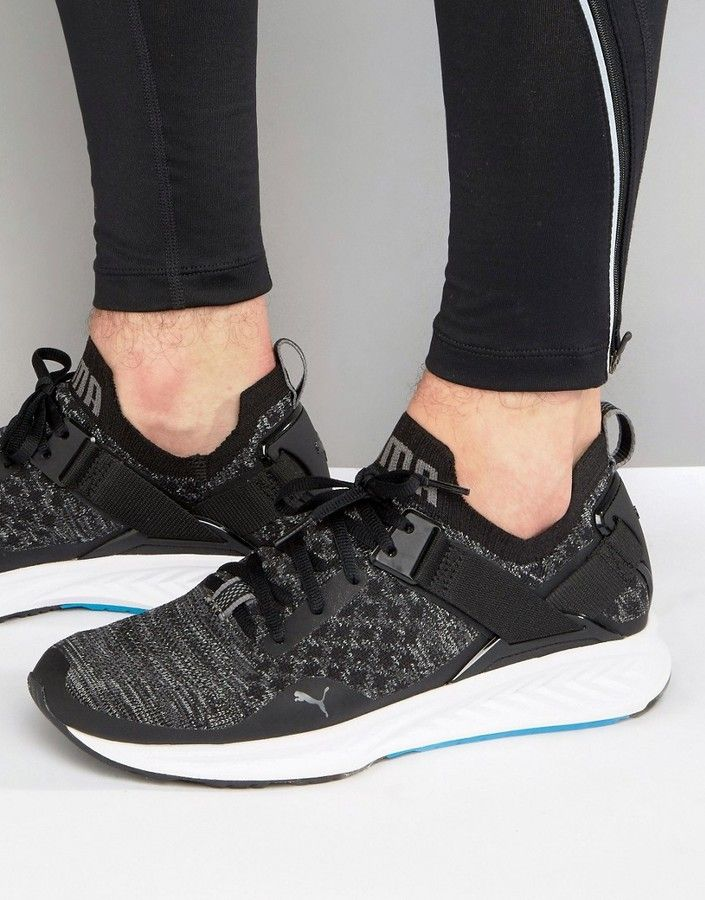 Puma Running Ignite Evoknit Lo Trainers In Black 18990401  45fe49797
