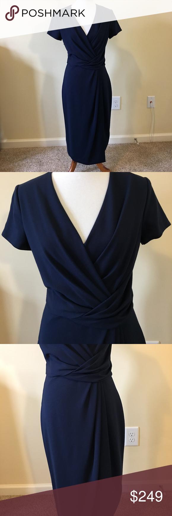 Stunning Authentic Jason Wu Dress Size 8 Stunning Authentic Jason Wu Dress Size 8, Navy, NWOT Made in USA! Jason Wu Dresses Midi
