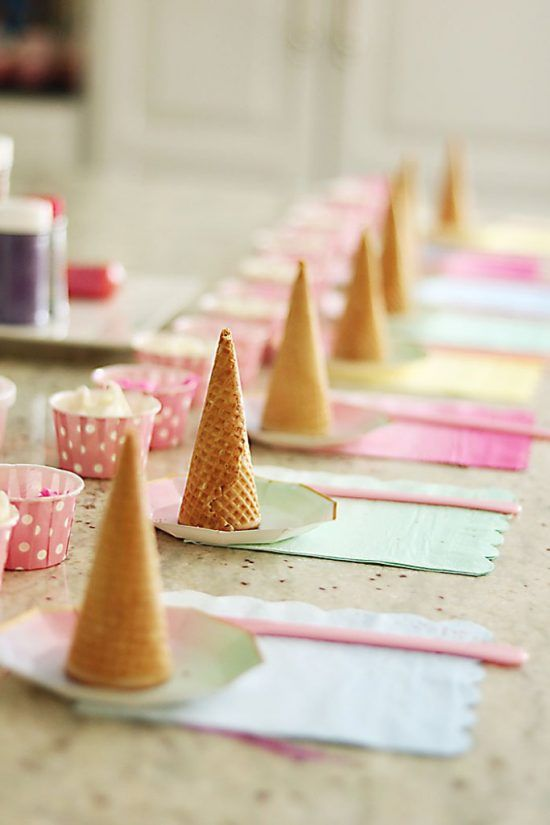 25+ Unicorn Party Ideas - Unicorn birthday party decorations, Unicorn themed birthday party, Unicorn birthday, Unicorn party, Unicorn pool party, Unicorn themed birthday - It's unicorn everything around here   enjoy this creative list of Unicorn Party Ideas  Whether you have a little one who is unicorn OBSESSED   or you're just throwing a cute party for friends and family, who doesn't love a good unicorn themed party ! If you are looking to throw a unicorn party, you've come to the right place! We are confident you are going to find unicorns, rainbows and all things magical with the following list of 25+ unicorn party ideas  It might be the most magical party you ever throw! 1  Sugar Cone Table Decor   Darling Darleen 2  DIY Unicorn Dream