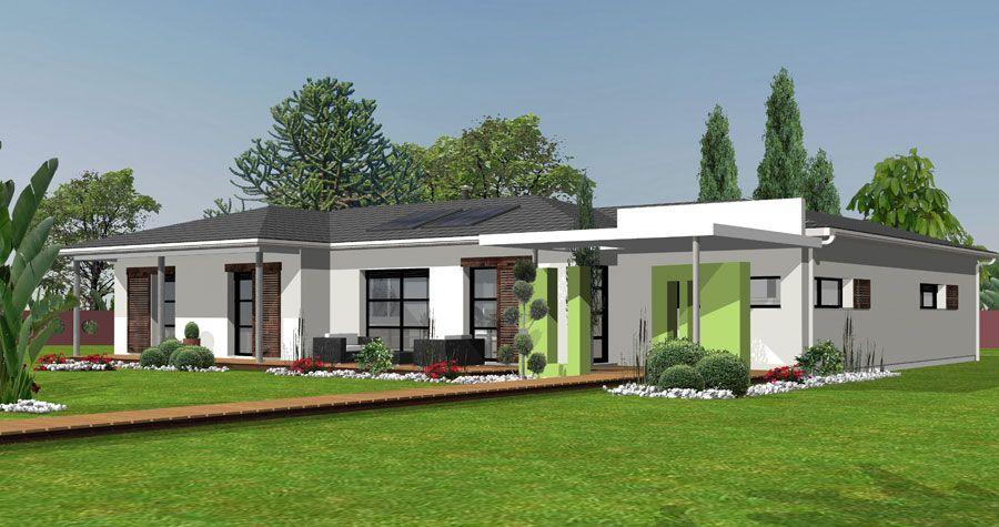 Maison Gaia Homexpo - Maison moderne - IGC Construction Habitat - Modeles De Maisons Modernes