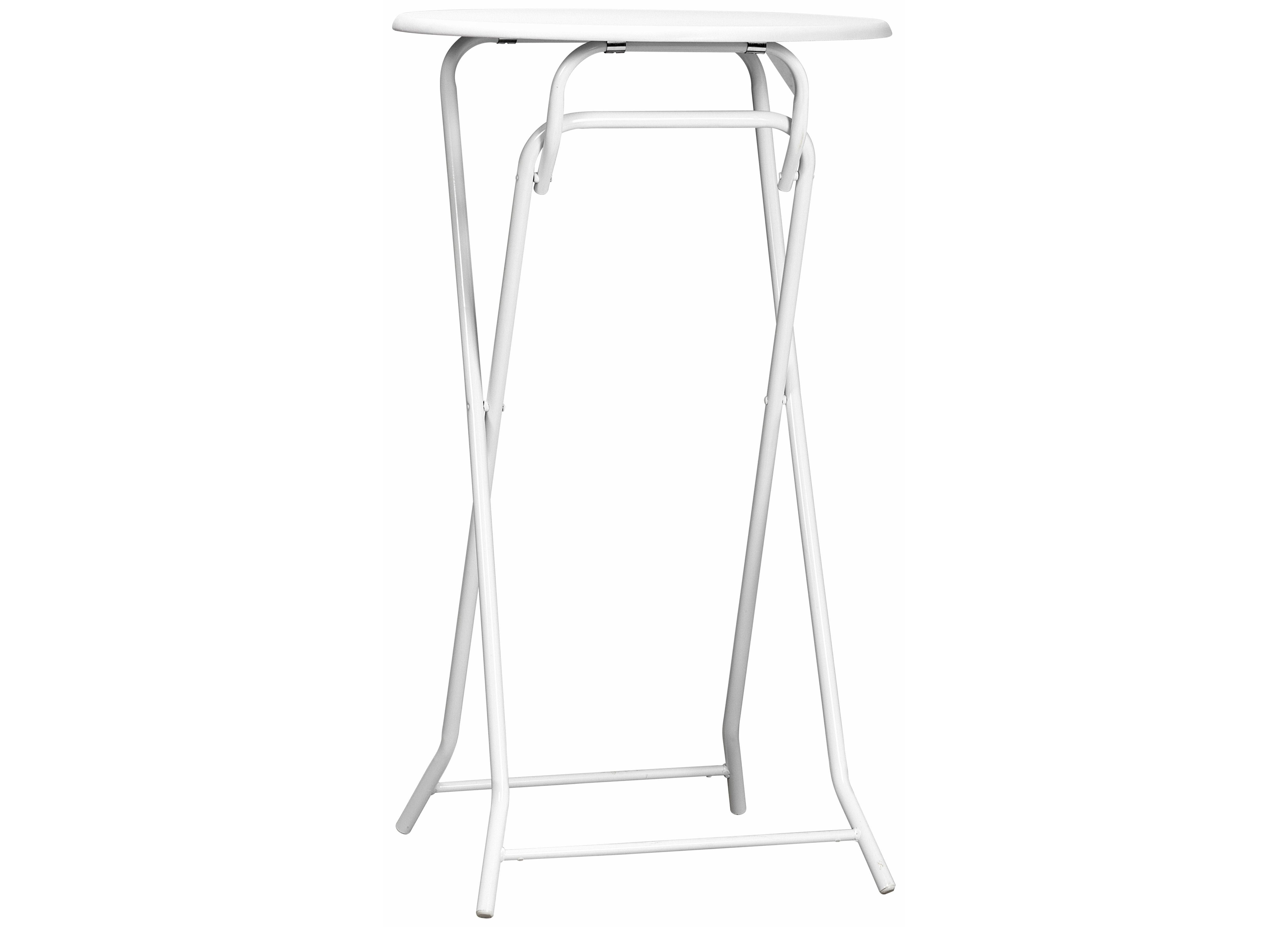 Statafel Goedkoop Kopen.Handige Bar Of Statafel Inklapbaar Wit Afmeting Doorsnee