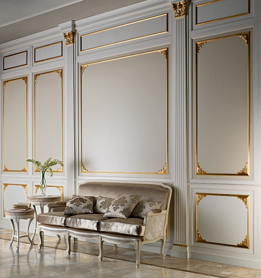 BOISERIE | Prestige Mobili | Illuminazione soggiorno ...
