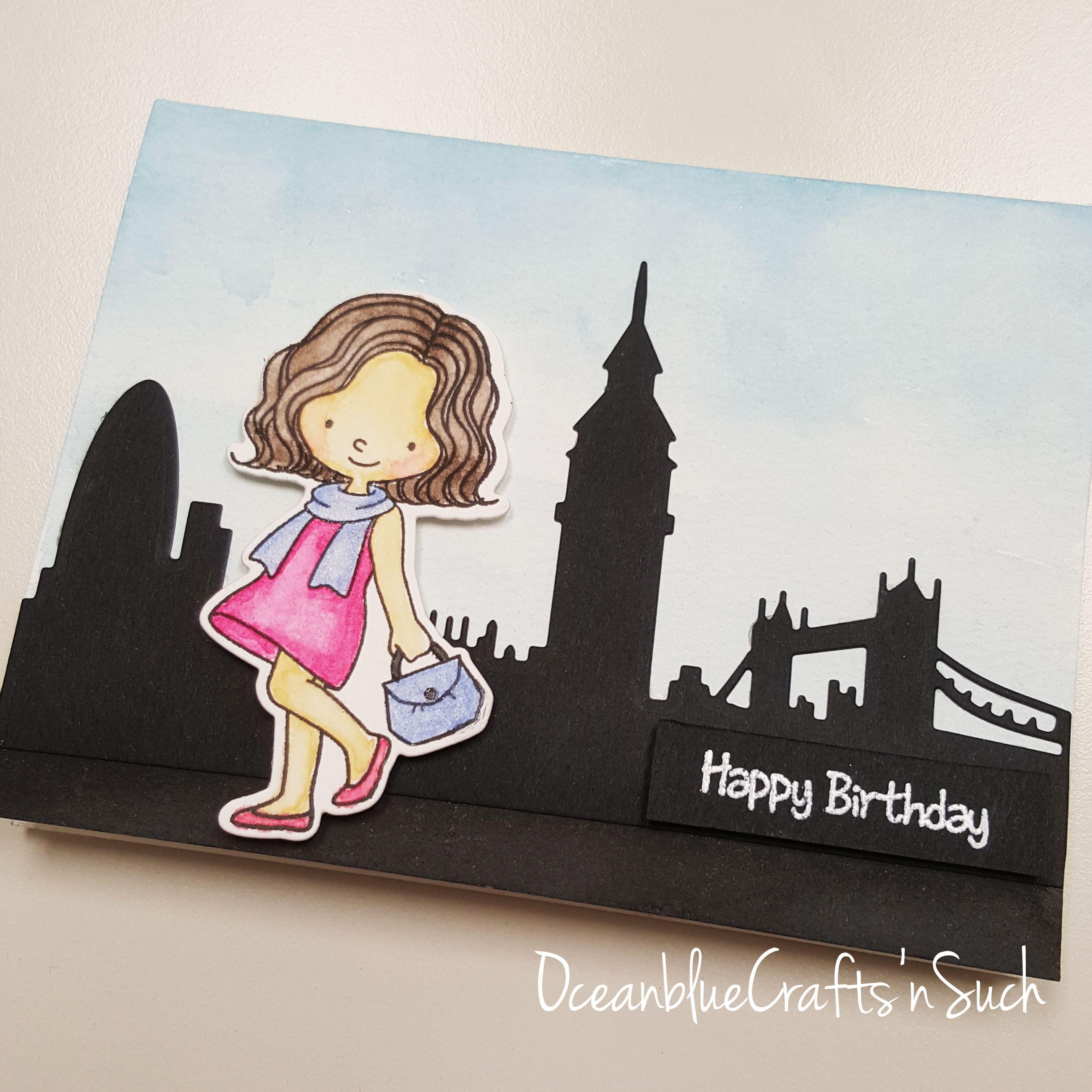 Birthday Card Featuring Mft Mon Cheri Stamp Set Cool Birthday Cards Birthday Cards For Mom Birthday Cards