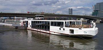 Viking River Cruises River Cruise Ship Viking Freya Track At Sea - Cruise ship finder app