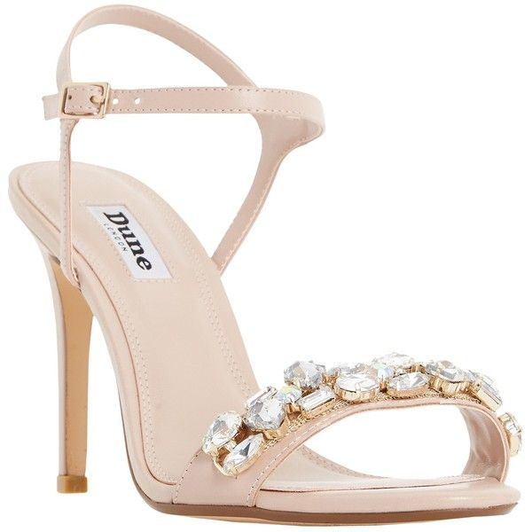 8604bfb8460 Dune Mya Jewel Embellished High Heel Sandals