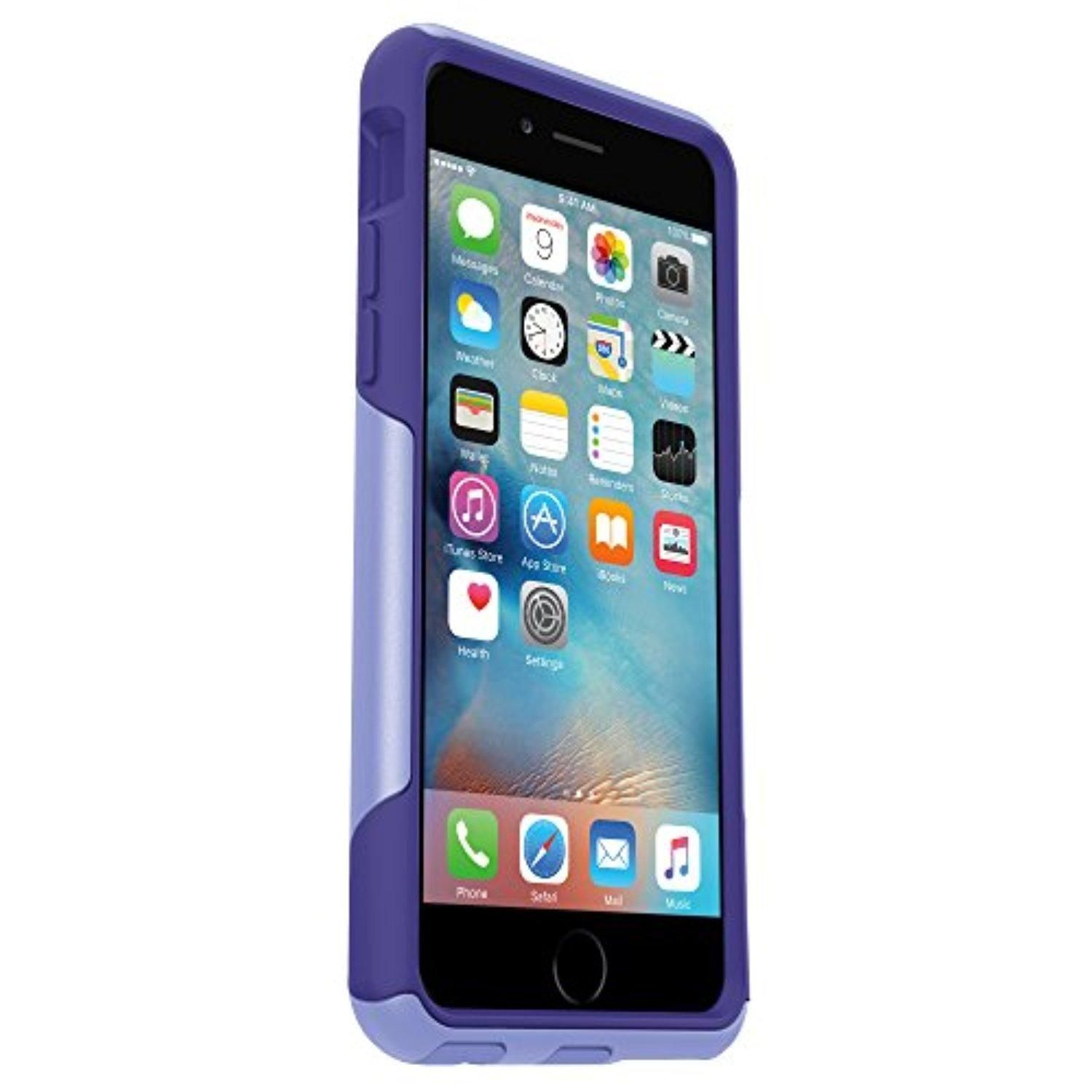 OtterBox COMMUTER SERIES iPhone 6/6s Case - Frustration-Free Packaging - PURPLE AMETHYST (PERIWINKLE PURPLE/LIBERTY PURPLE) - Brought to you by Avarsha.com