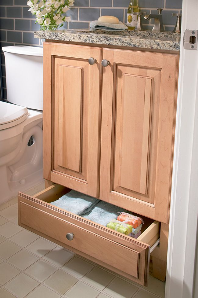 Brilliant inverting a kitchen base cabinet reduced depth - Small bathroom cabinet with drawers ...