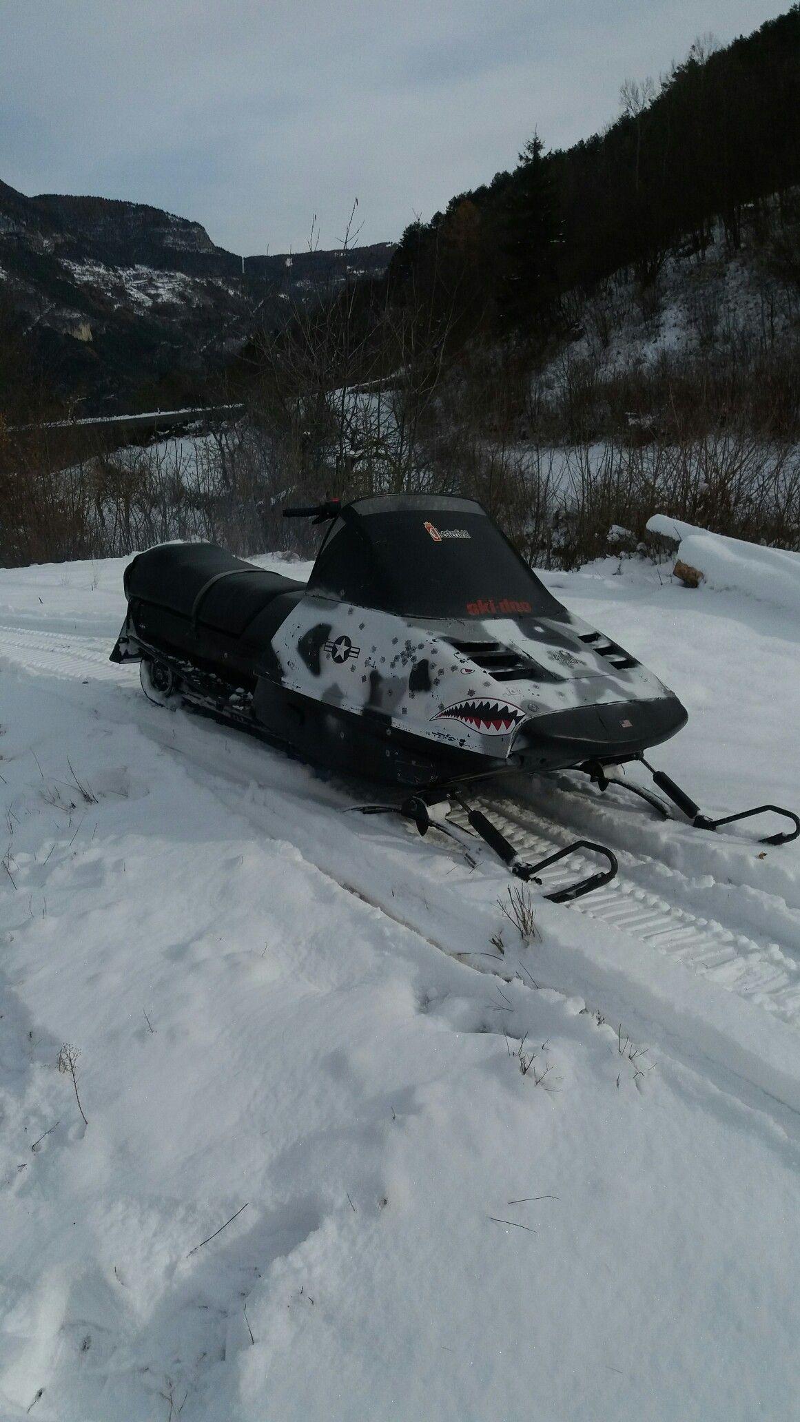 Ski Doo Safari 447 Motoslitta
