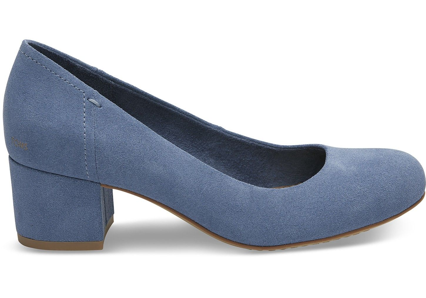 4cbc03358649 Toms Infinity Blue Suede Women s Beverly Pumps Shoes - 7.5 ...