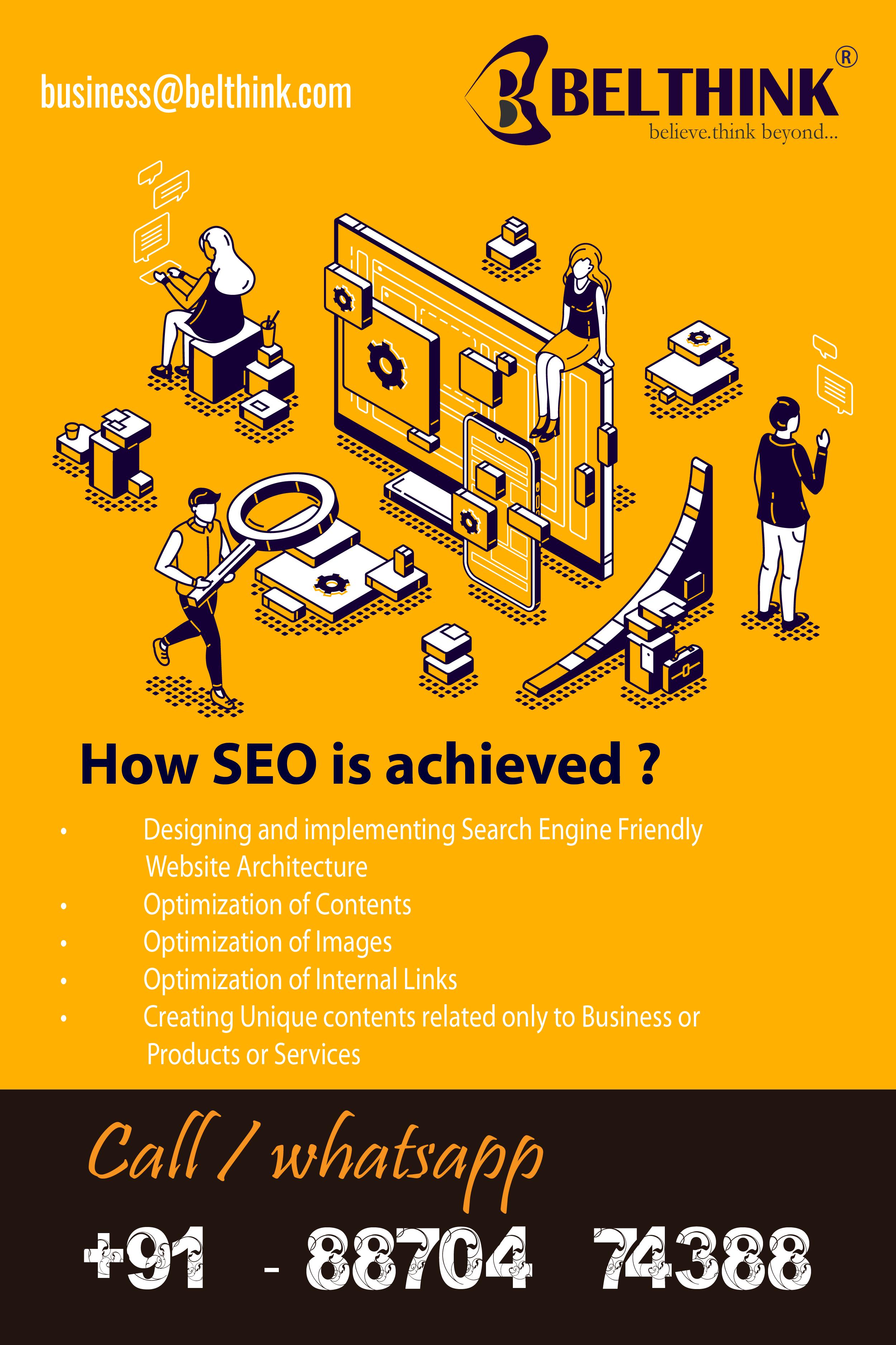 How Seo Is Achieved In 2020 Web Design Web Development Design Web Design Company