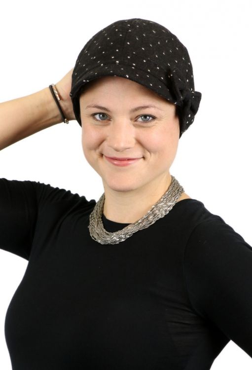 18eaae83df980 Dottie Newsboy Cap for Women with Small Heads cancer headwear chemo cap for  women