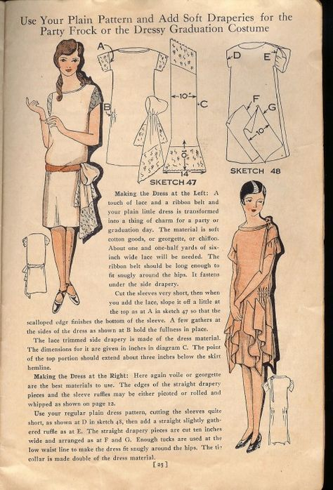 SFR Mail   VINTAGE style   Pinterest   1920er, Vintage und Schnittmuster