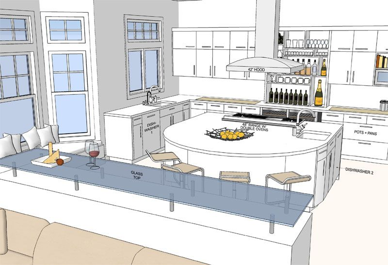 Attractive Dream Kitchen Floor Plans #4: Help Design The Sunset Dream Kitchen Of The West: Sneak Peek At The Floor  Plans