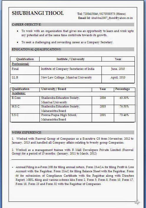 Resume Format For Llb Student Curriculum Vitae Resume Good Communication Skills Resume Format