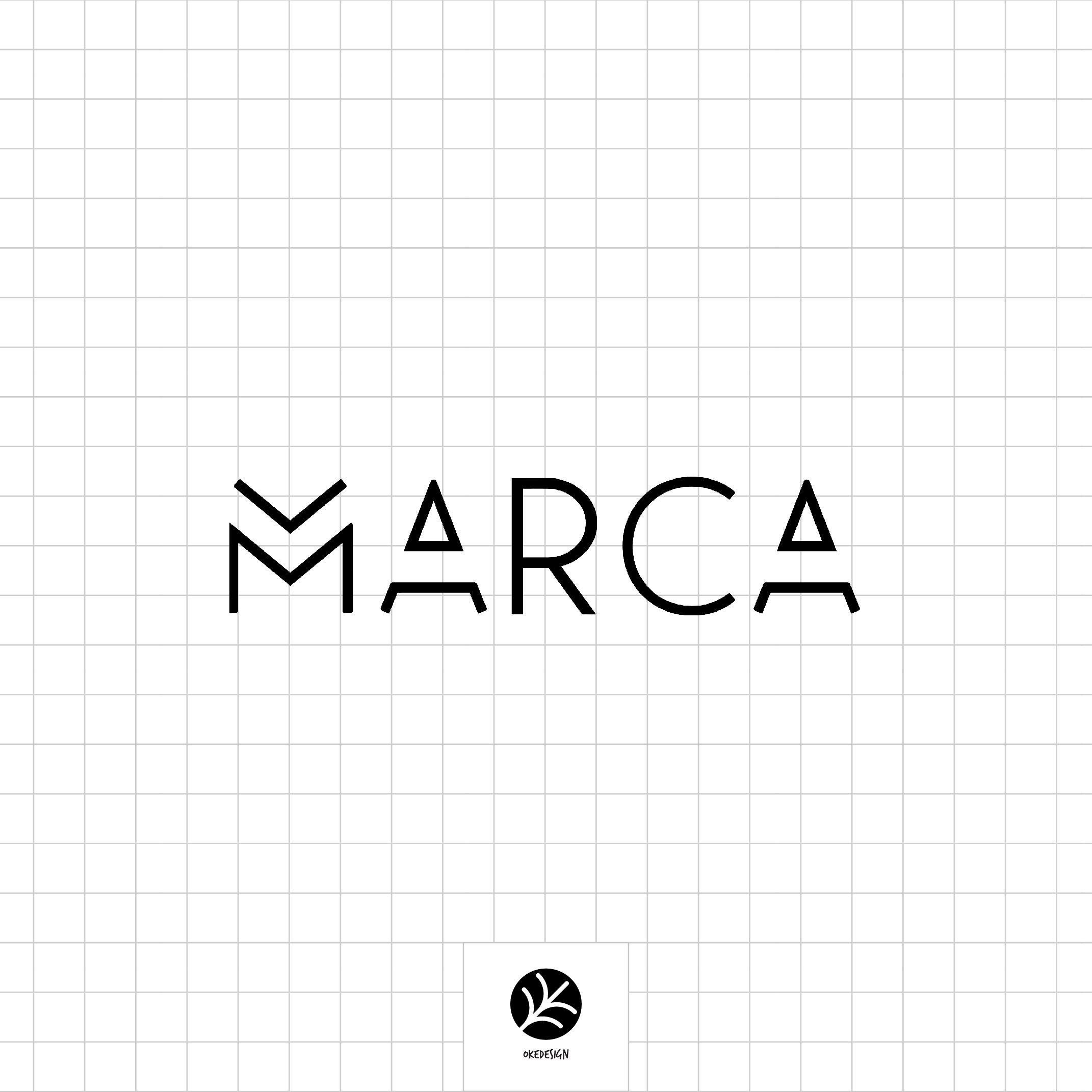 marca.apparel logo by okedesign. Marca adalah sebuah