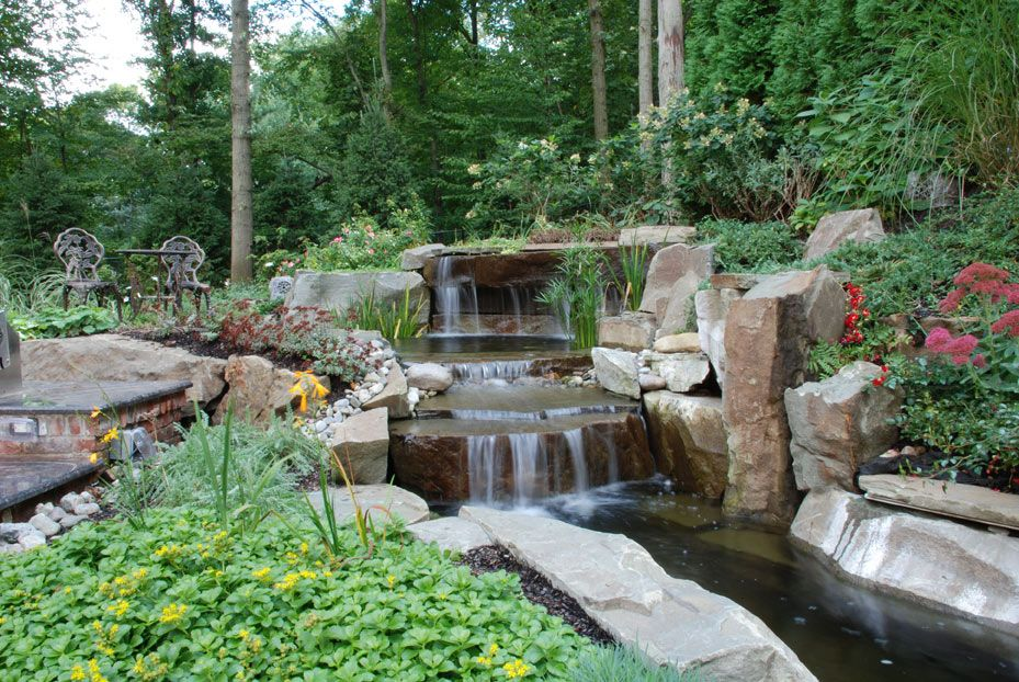 Koi Pond Design Ideas Small Back Yard Fish Ponds Small Koi Pond 1000