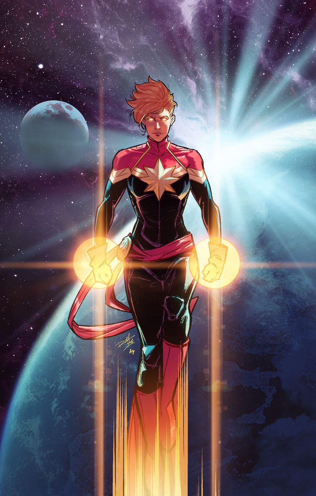 Captain Marvel, Bryan Valenza on ArtStation at https//www ...