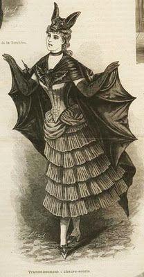 19th century Bat Costume & 19th century Bat Costume | Halloween fun | Pinterest | Bat costume ...