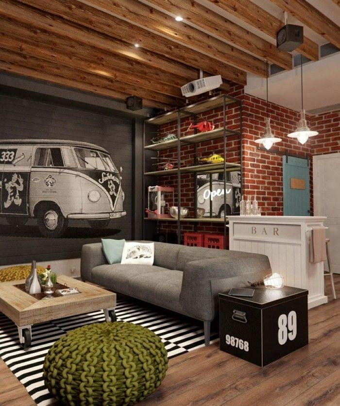Das kleine Wohnzimmer bis ins Detail einrichten Pinterest Lofts