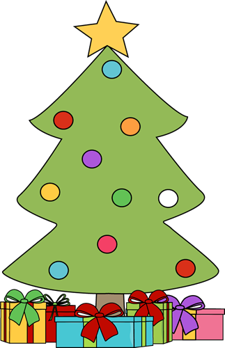 Christmas Clip Art Christmas Tree With Gifts Clip Art Christmas Tree With Wrapped Christmas Tree Clipart Christmas Tree With Gifts Christmas Gift Images