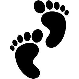 Baby Feet Silhouette Paw Print Drawing Baby Silhouette Silhouette Clip Art