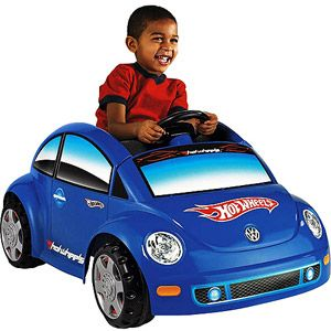 Fisher Price Power Wheels Vw Beetle Hot Wheels J Power