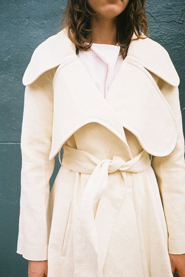 JW Anderson, oversized lapel coat