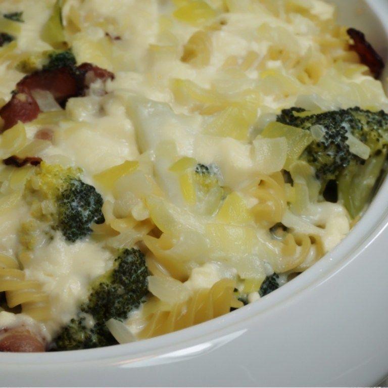 Pastagratang Med Broccoli Och Fetaost Mat Kottfars Recept Och