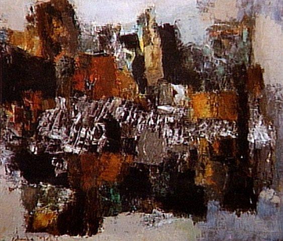 Sem Título s.d.   Yolanda Mohalyi óleo sobre tela 80.60 x 99.60 cm