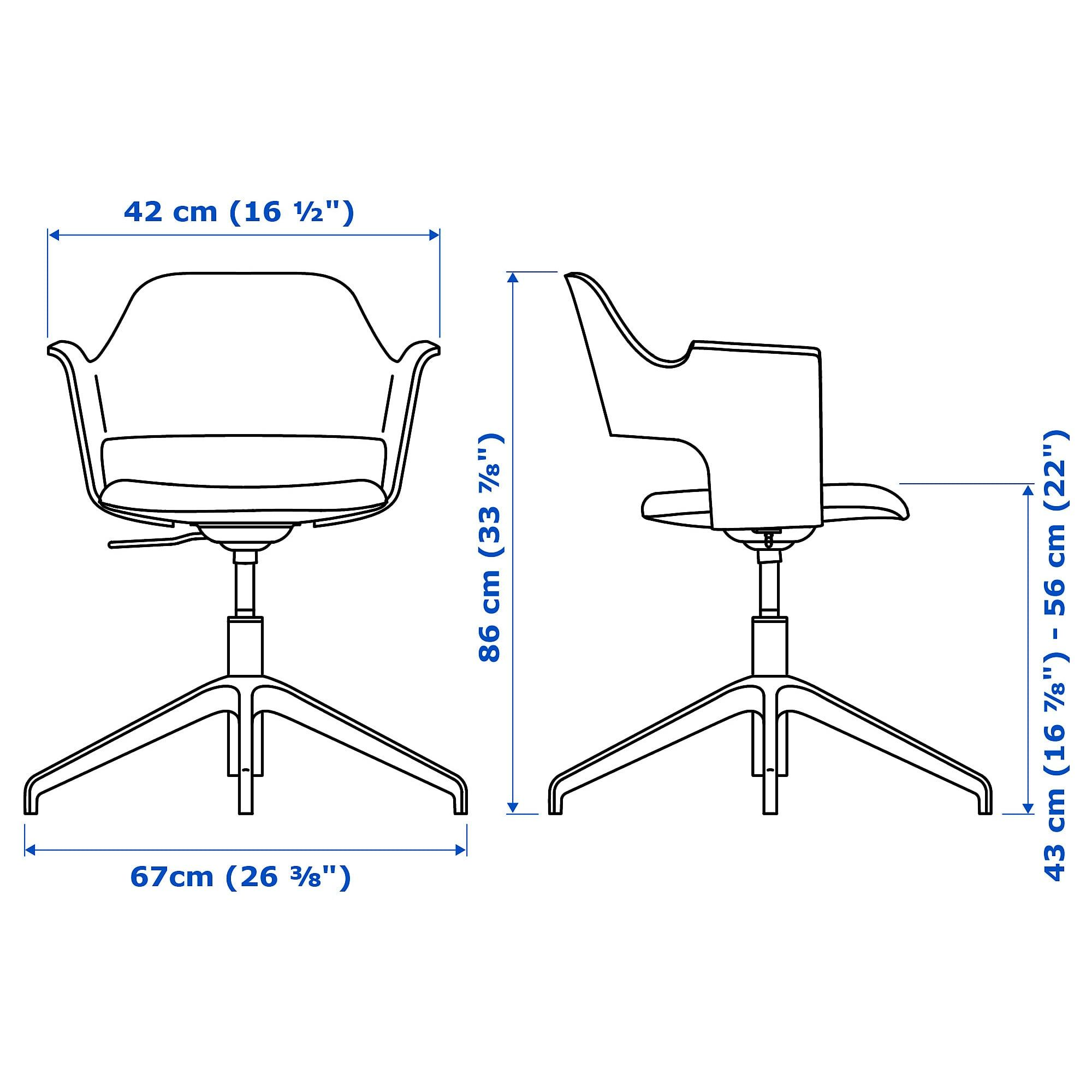 INGOLF Junior chair white (With images) Home kitchens