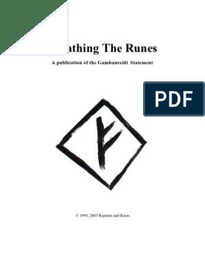 Book Of Runes Ralph Blum Runes In 2021 Runes Icelandic Runes Viking Symbols